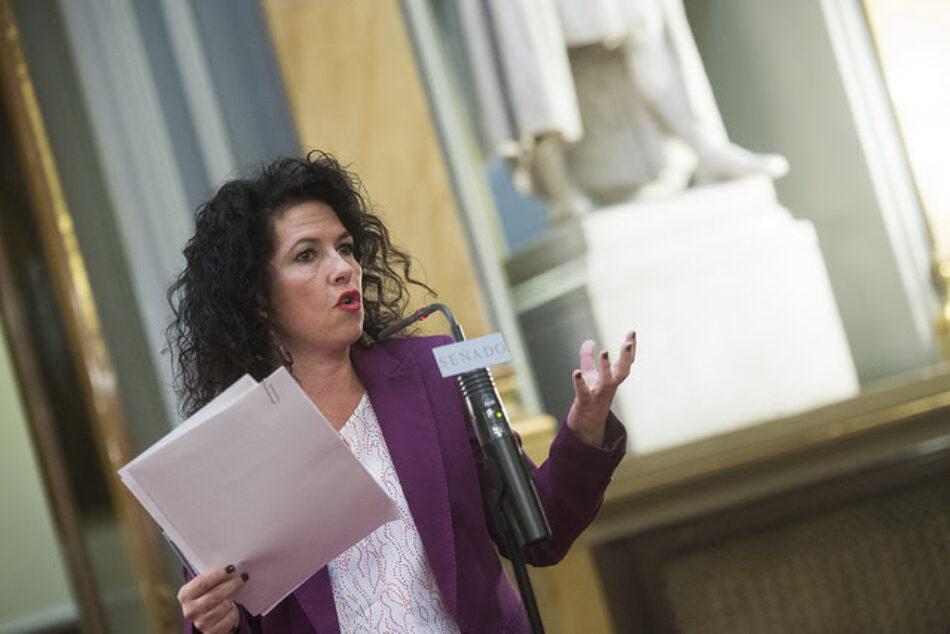 Unidos Podemos presenta una Proposición de Ley en el Senado para derogar las 'devoluciones en caliente'