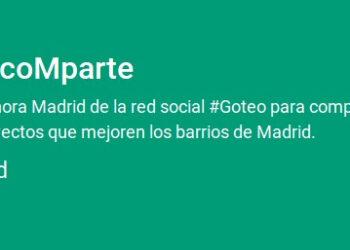 Ahora coMparte, el canal de crowdfunding de Ahora Madrid, comienza el 15 de noviembre con una bolsa inicial de 100.000 euros