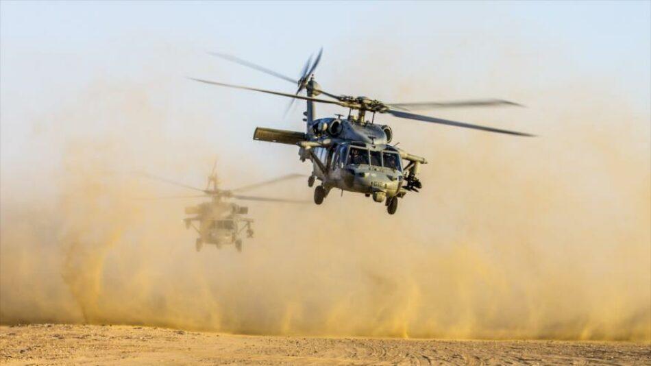 Helicópteros de EEUU evacúan a líderes de EIIL de este de Siria