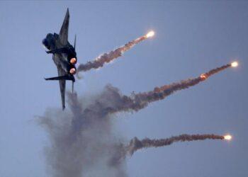 Aviones israelíes bombardean de nuevo la Franja de Gaza