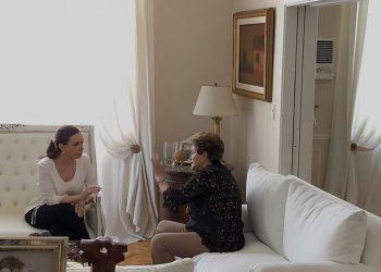 Cristina Fernández dialoga con Dilma Rousseff en Buenos Aires