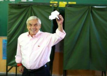 Chile: El derechista Sebastián Piñera otra vez presidente /Obtuvo un 54,62 % de votos contra un 45,38% del centrista Guillier