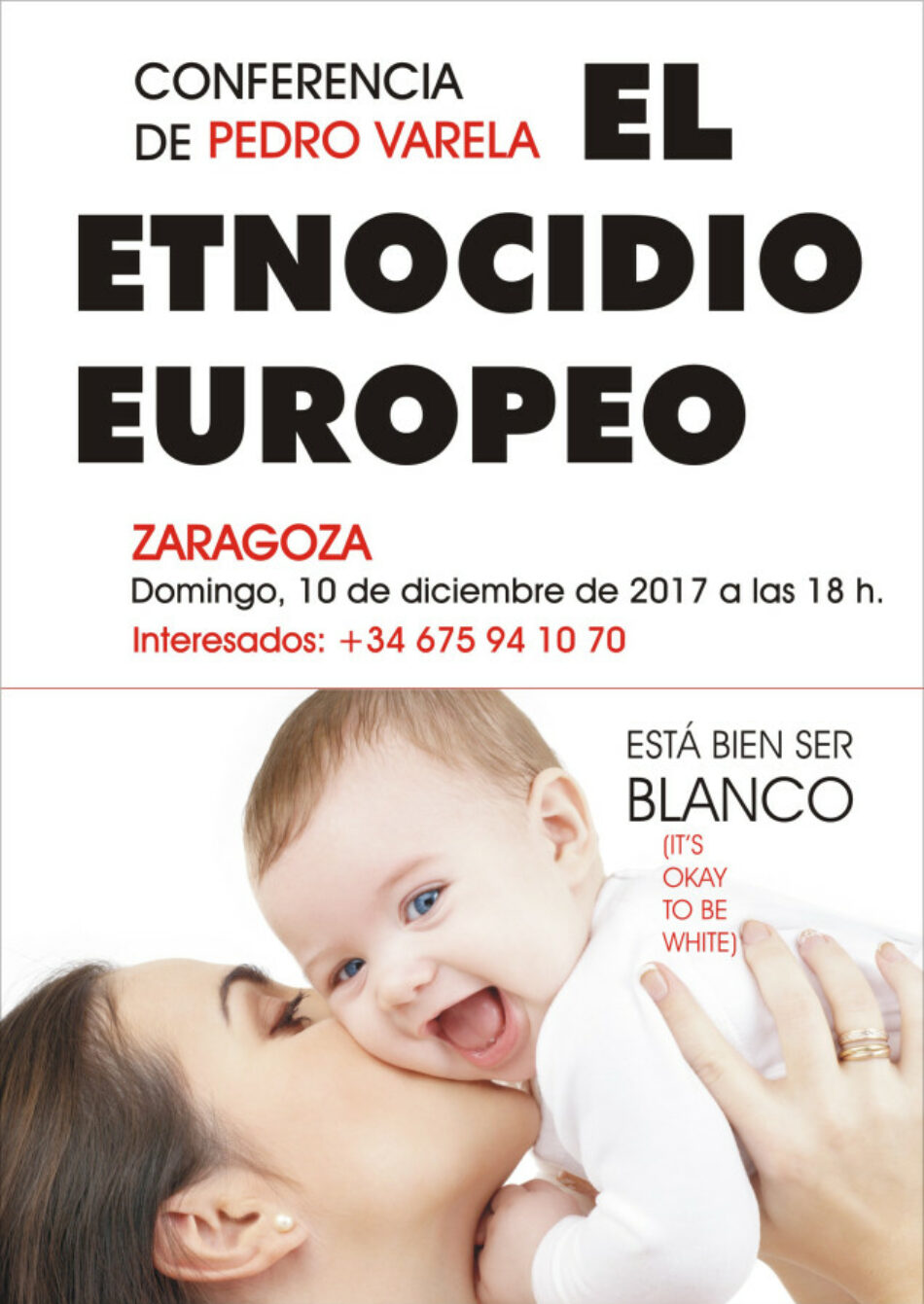 Condenan la celebración de una charla racista en Zaragoza