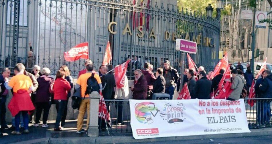 Se reanudan las huelgas en la imprenta del Grupo PRISA
