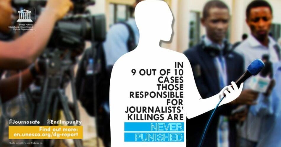 97 comunicadores asesinados en 2017