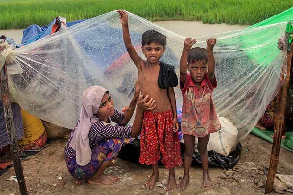 Más de 647 mil rohinyás refugiados en Bangladesh desde agosto
