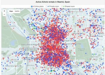 El Ayuntamiento de Madrid regulará el mercado de alquiler de los pisos turísticos sancionando a los que no poseen licencia si se alquilan más de 90 días al año