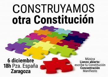 «Construyamos otra constitución»: evento en el Ateneo Republicano de Zaragoza el 6D