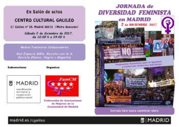 Jornada de diversidad feminista en Madrid
