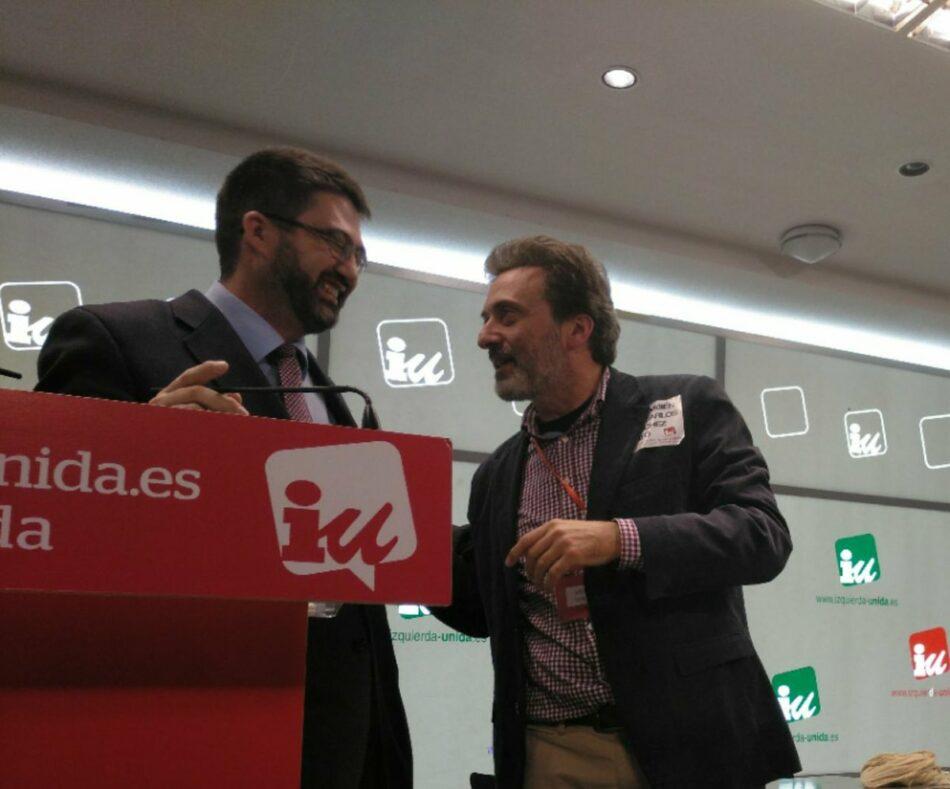IU Madrid apoya al concejal Carlos Sánchez Mato, tras su cese como responsable del área de Economía y Hacienda del ayuntamiento de Madrid, y mantiene su oposición al PEF