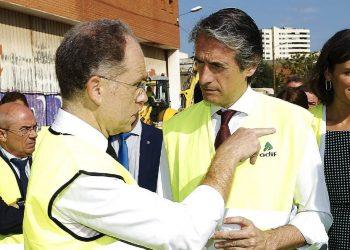 Garzón, Alonso y Pascual concretan la iniciativa para que el ministro de Fomento explique en el Congreso si piensa cesar a Juan Bravo, presidente de Adif e imputado en el 'caso Lezo'