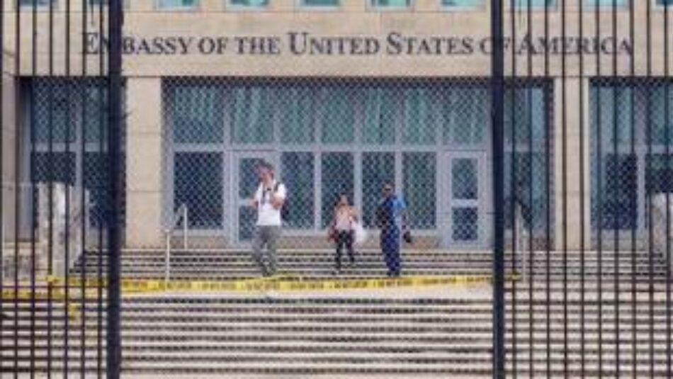 Estados Unidos a un paso de cerrar su embajada en Cuba