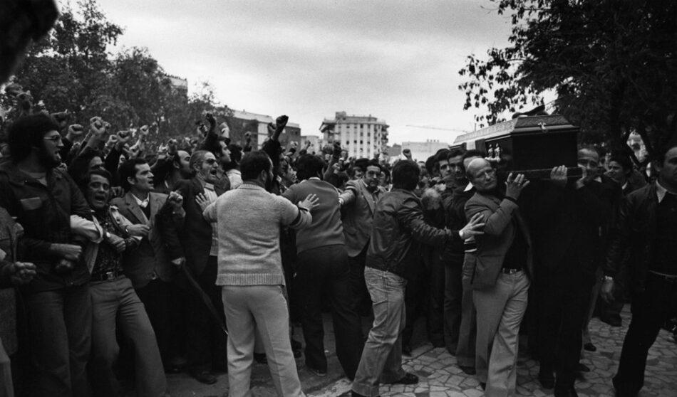 La diputada García Sempere remite una carta al ministro Zoido en el 40 aniversario del asesinato de García Caparrós para que haga público un informe policial secreto que arroja luz sobre el crimen