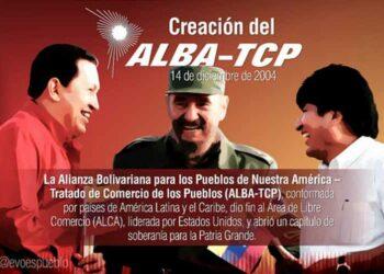Evo califica al ALBA como alianza de dignidad para América Latina