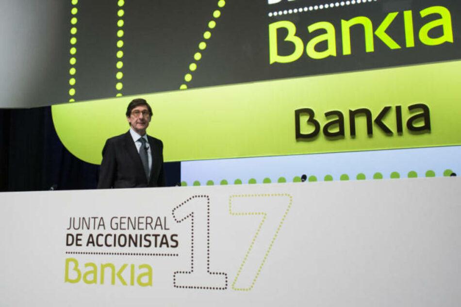 Campaña contra la Privatización de Bankia-BMN: «paremos la venta de Bankia-BMN»
