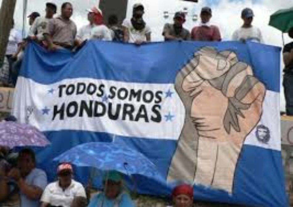 Pronunciamiento: ¡¡ Honduras resiste !! ¡¡ Que caiga la dictadura !!