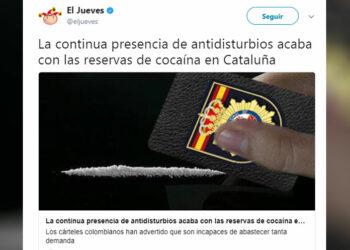 Los humoristas Guillermo Martínez-Vela, Joan Ferrús y Eduard Biosca son investigados por supuestas injurias ante la denuncia de sindicatos de policías y la Policía Nacional