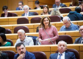 Unidos Podemos lleva al Senado las reclamaciones de los ayuntamientos del cambio en materia de vivienda