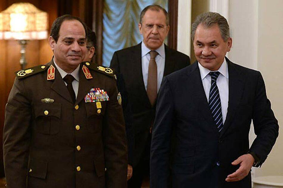 El acuerdo militar entre Rusia y Egipto cambia la situación estratégica en Oriente Medio