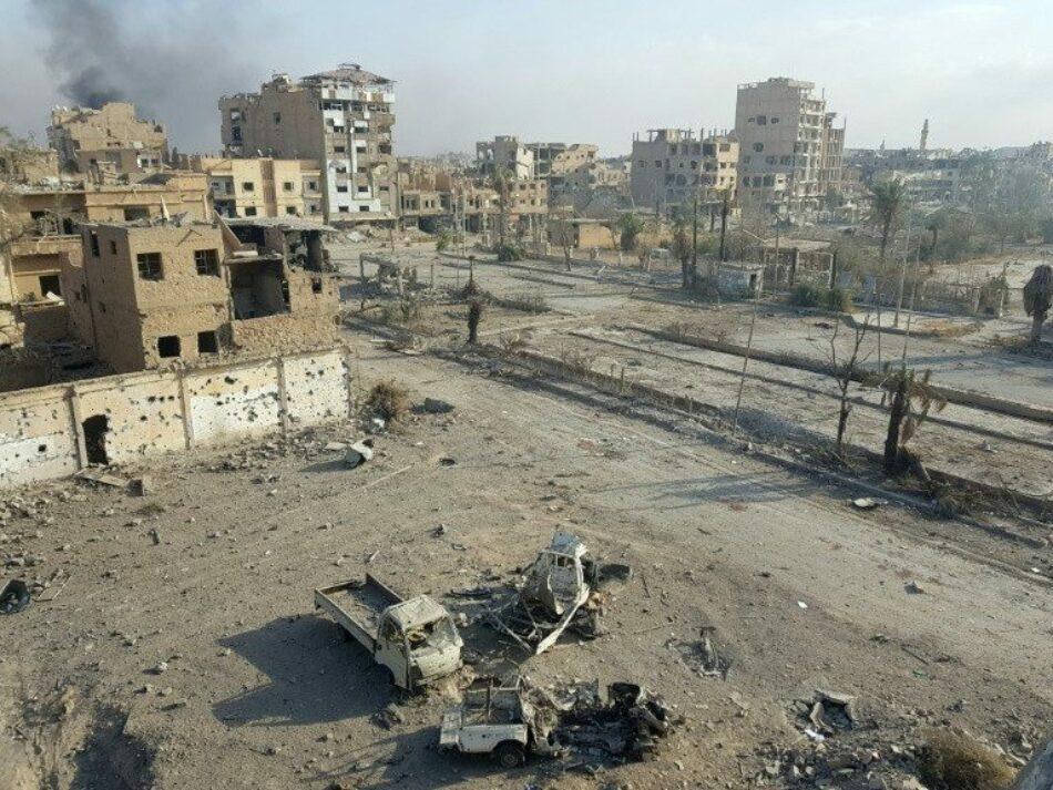 Autoridades sirias reconstruirán Albu Kamal