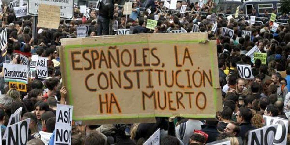 Fuerzas políticas y sociales que apuestan por dejar atrás la Constitución de 1978