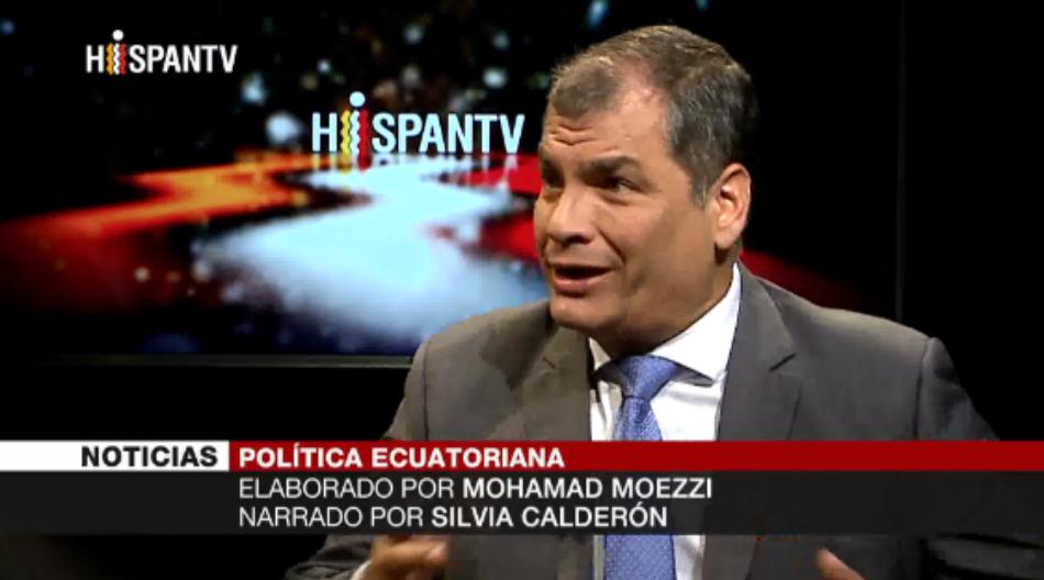 Correa denuncia intentos de destruir Alianza País