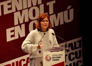 Elisenda Alamany: «Senyora Rovira, o el Pdecat o posem en marxa una Catalunya progressista, però les dues coses no poden ser!»