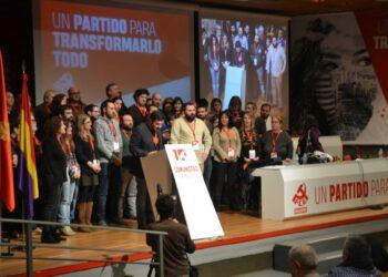 Álvaro Aguilera elegido Secretario General del Partido Comunista de Madrid con el 83% de los votos