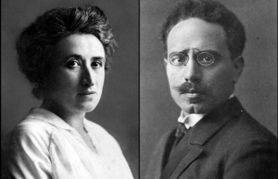 Rinden homenaje a Rosa Luxemburgo y Karl Liebknecht