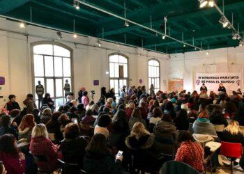 Habrá huelga: el movimiento feminista lanza en Zaragoza su llamamiento a «pararlo todo» el 8 de marzo