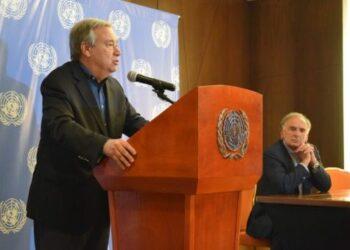 Guterres insta a retomar diálogo entre Gobierno colombiano y el ELN