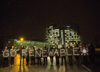 """IU se abstiene en la propuesta del PE sobre renovables porque """"la ausencia de objetivos nacionales vinculantes pone en peligro los acuerdos de París"""""""