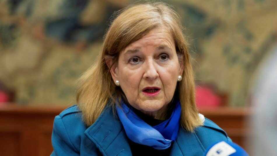 """IU alerta en Bruselas sobre el nombramiento de Elósegui y exige a la jueza que """"rectifique y pida disculpas a las mujeres y a las personas LGTBI"""""""