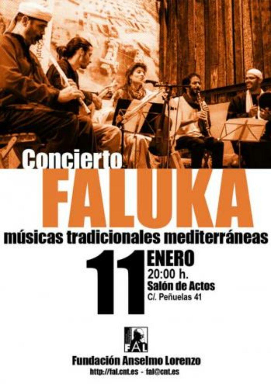 [FAL] Concierto de «Faluka» (músicas tradicionales mediterráneas)