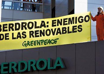 El informe de la CNMC confirma las tesis de Greenpeace contra el Real Decreto del Gobierno que regula el cierre de las centrales eléctricas