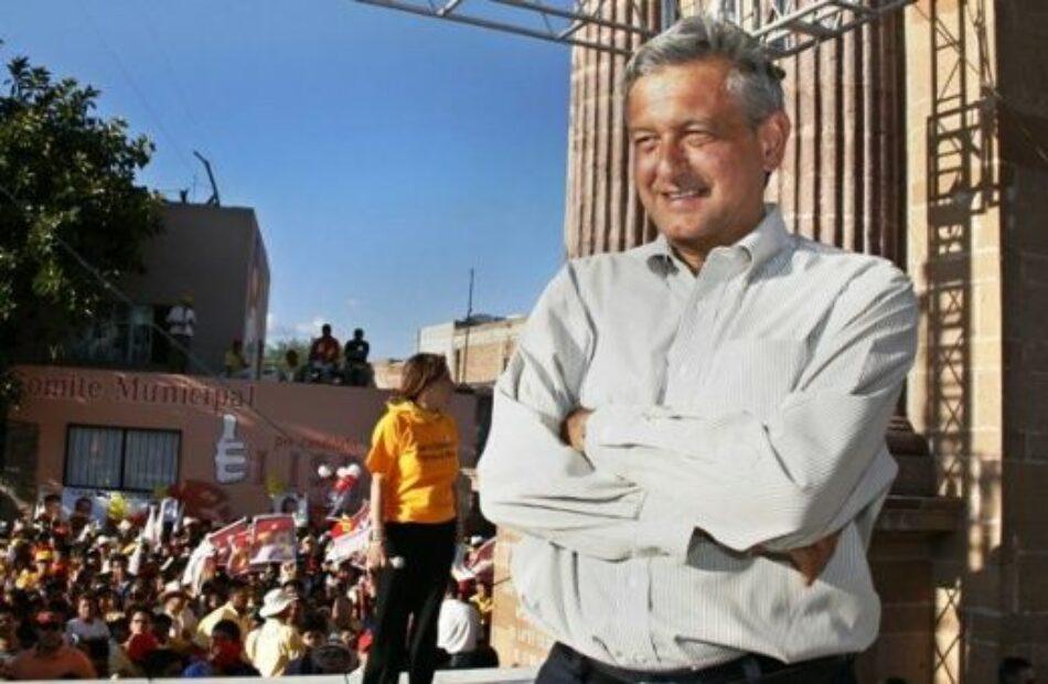 López Obrador lidera la intención de voto en México