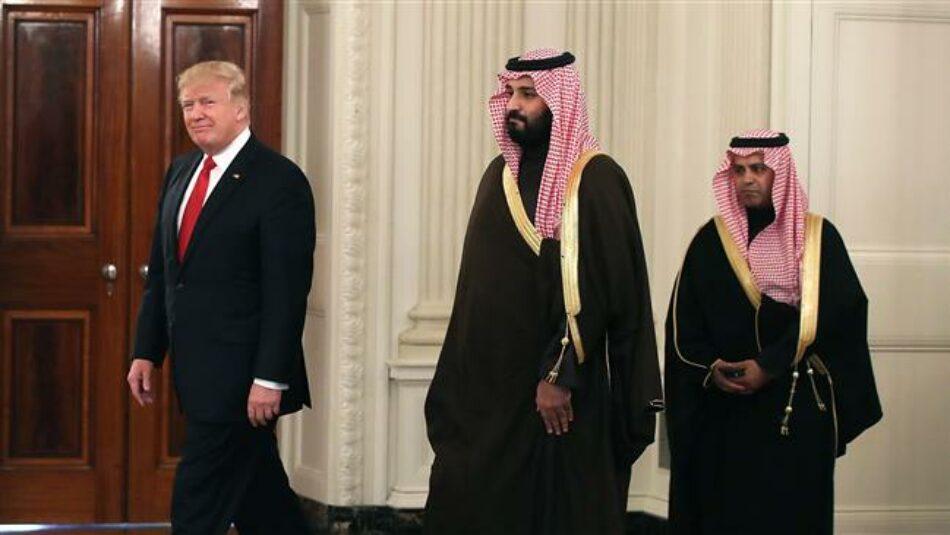 """Trump (sobre Bin Salman): """"Hemos puesto a nuestro hombre en la cima"""""""