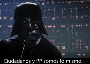 """Cambiemos Murcia recuerda con Star Wars que depende de Ciudadanos """"acabar con las prácticas caciquiles"""""""