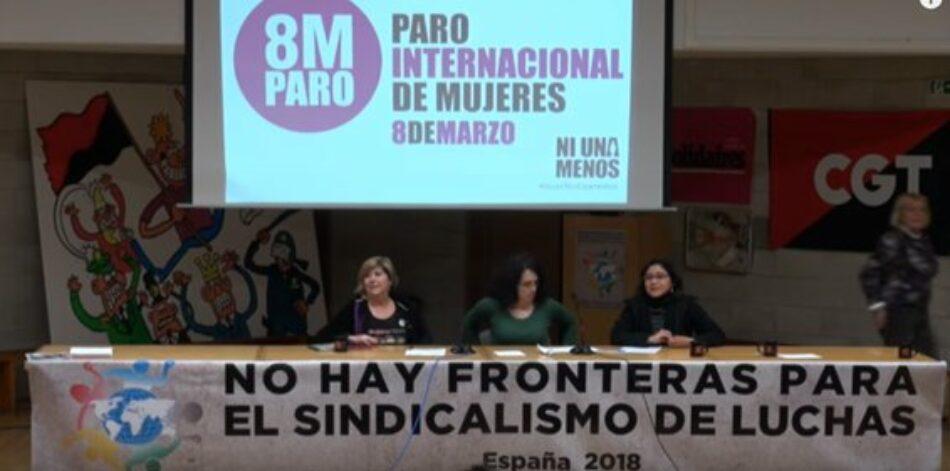¨Nuestra Red Internacional de Solidaridad y Luchas es, sin duda, feminista y antipatriarcal¨