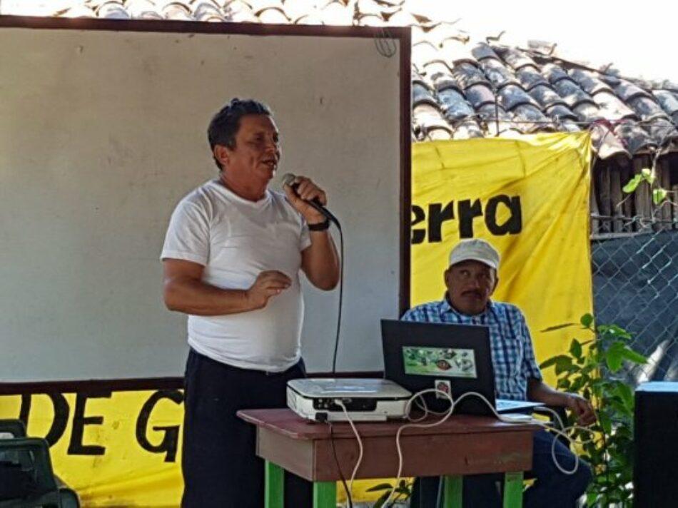 Honduras. Lorenzo Aguilera: «No nos vamos a ir, solo muertos nos van a sacar»