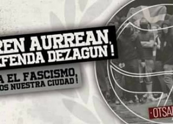 El departamento de interior altera la concentración antifascista de hoy