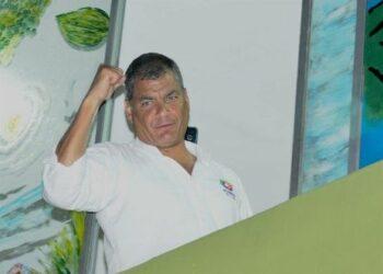 «La lucha continúa» afirma Correa tras resultados electorales