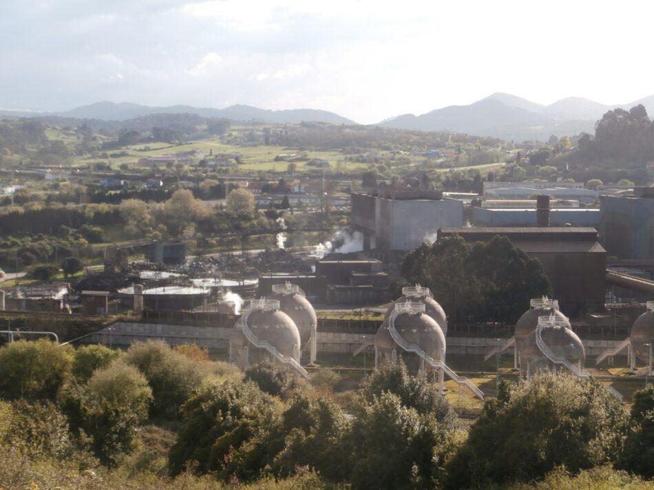 Organizaciones ecologistas denuncian explosiones por prácticas indebidas en la acería de Arcelor en Carreño
