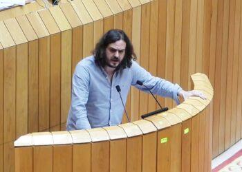 Antón Sánchez califica de «modelo de expolio» o plantexamento do sector eólico promovido polo Partido Popular de Galicia