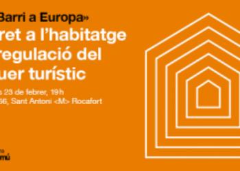 """Barcelona En Comú organitza les jornades """"Del barri a Europa"""" per debatre sobre la incidència de les ciutats en les polítiques europees"""