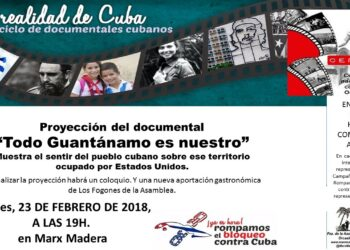 """La realidad de Cuba. Ciclo de documentales cubanos: """"Todo Guantánamo es nuestro"""""""