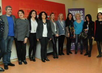 Mujeres del movimiento feminista, la universidad, la cultura y el sindicalismo contra la desigualdad social y laboral