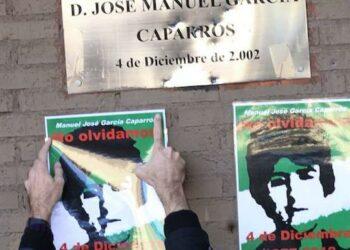 La familia García Caparrós comienza una movilización social para traer la documentación del caso del Congreso de los diputados al Parlamento de Andalucía
