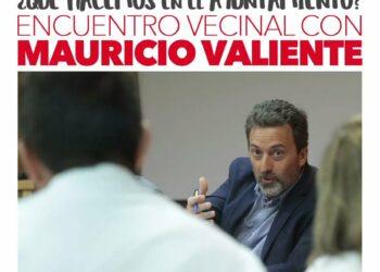 «¿Qué hacemos en el Ayuntamiento?»: encuentro abierto con Mauricio Valiente, Tercer Teniente de Alcalde