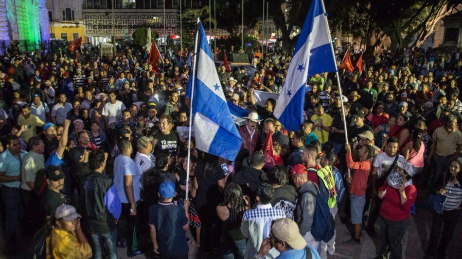 Hondureños retoman protestas por fraude electoral